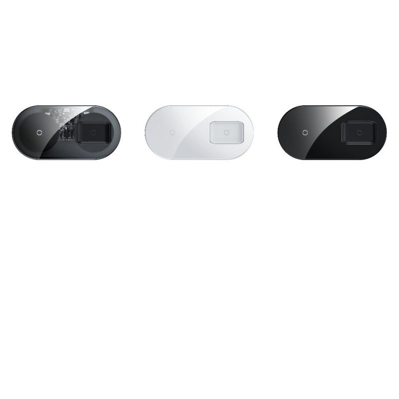 Беспроводное ЗУ Baseus Simple 2in1 18W Pro Edition - Купить в Украине за 899 грн
