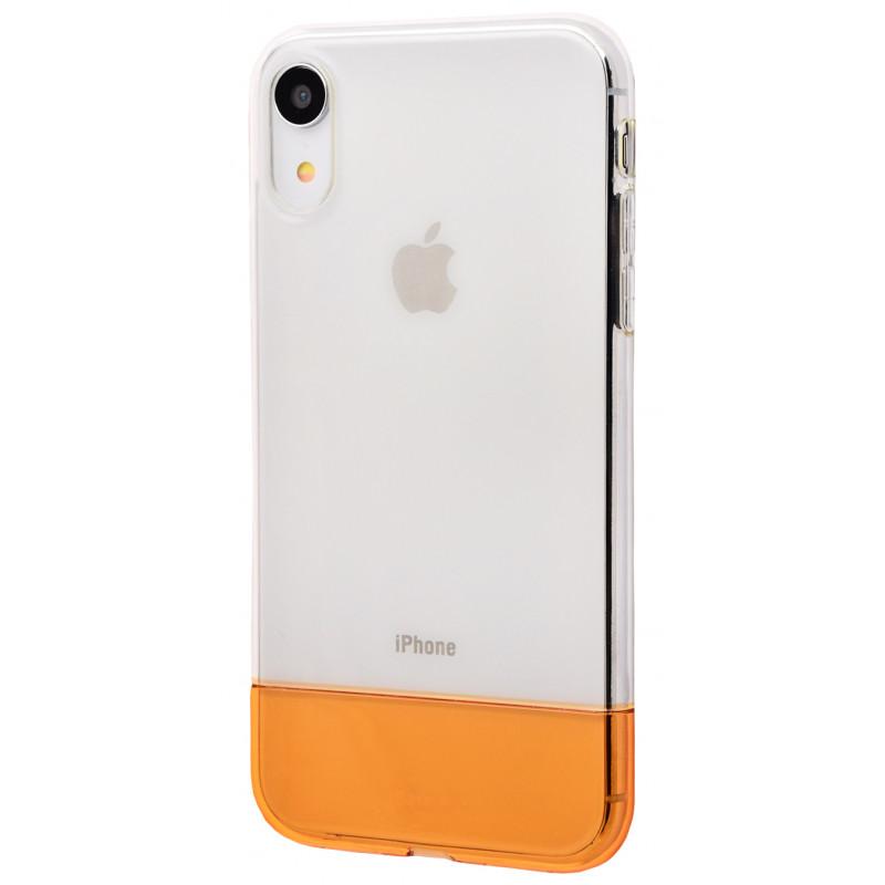 Baseus Half to Half soft Case (TPU) iPhone Xr - Купить в Украине за 320 грн - изображение №3