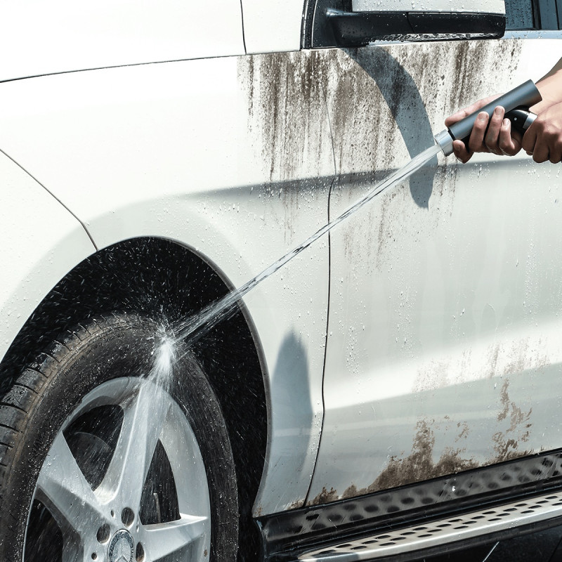 Садовый шланг Baseus Simple Life Car Wash Spray Nozzle (7.5m) - Купить в Украине за 909 грн - изображение №3