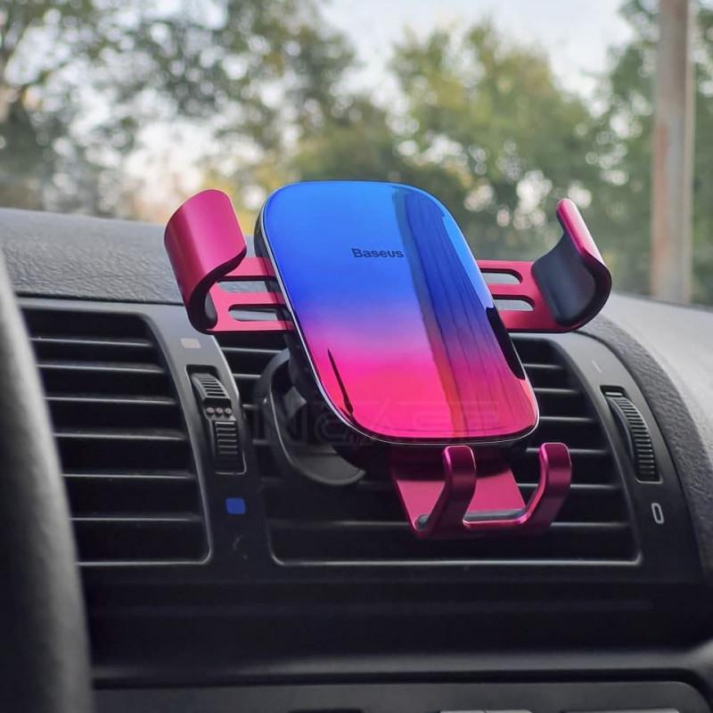 Автодержатель Baseus Glaze Gravity Car Mount - Купить в Украине за 449 грн - изображение №3