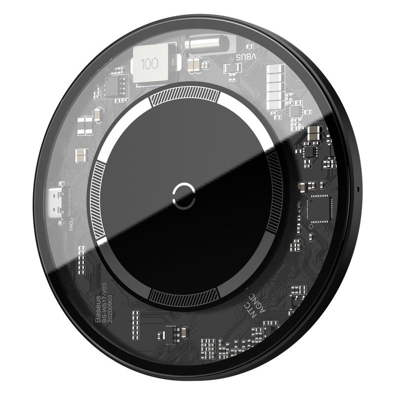 Беспроводное ЗУ Baseus Simple Magnetic 15W - Купить в Украине за 849 грн - изображение №12
