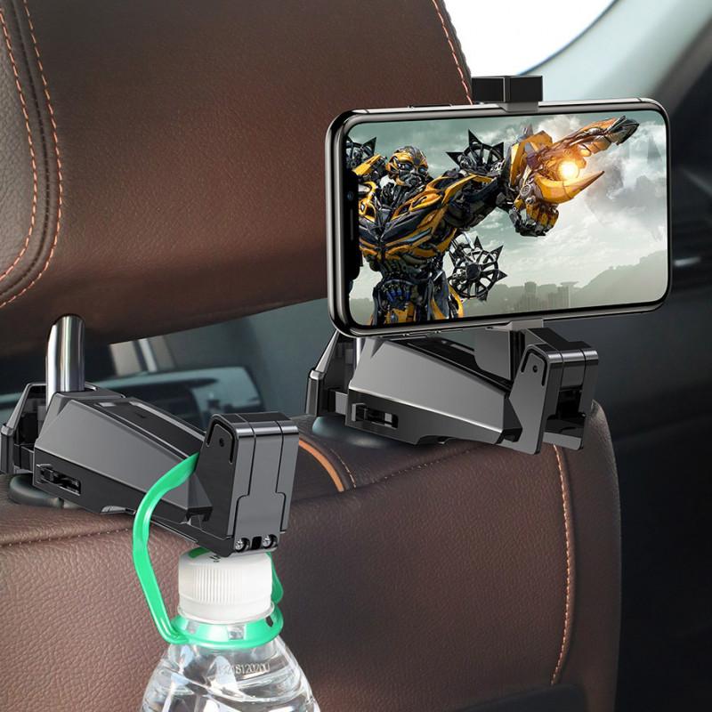 Автодержатель Baseus Backseat Vehicle Phone Hook - Купить в Украине за 219 грн - изображение №5
