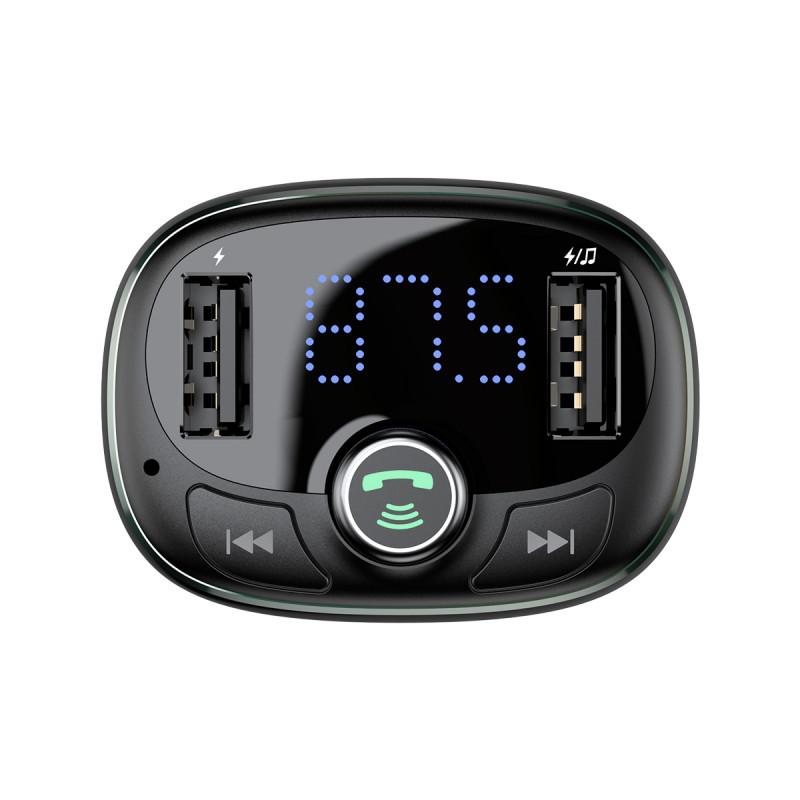 Автомобильное ЗУ Baseus Bluetooth FM Launcher 2.4A 2USB - Купить в Украине за 539 грн - изображение №7