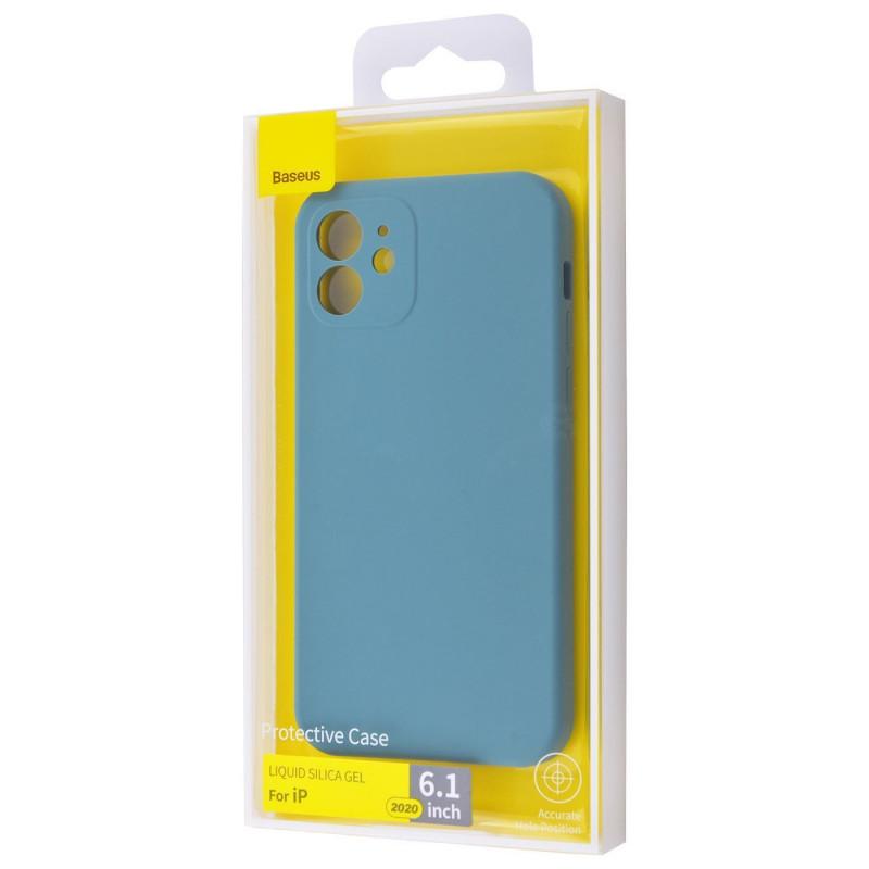 Baseus Liquid Silica Gel Protective Case iPhone 12 - Купить в Украине за 399 грн - изображение №2