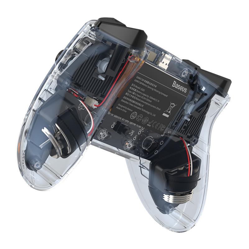 Игровой Контроллер Baseus SW Motion Sensing Vibrating Gamepad - Купить в Украине за 1019 грн - изображение №8