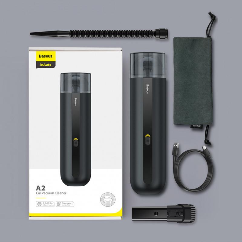 Портативный Пылесос Baseus A2 Car Vacuum Cleaner - Купить в Украине за 1079 грн - изображение №10