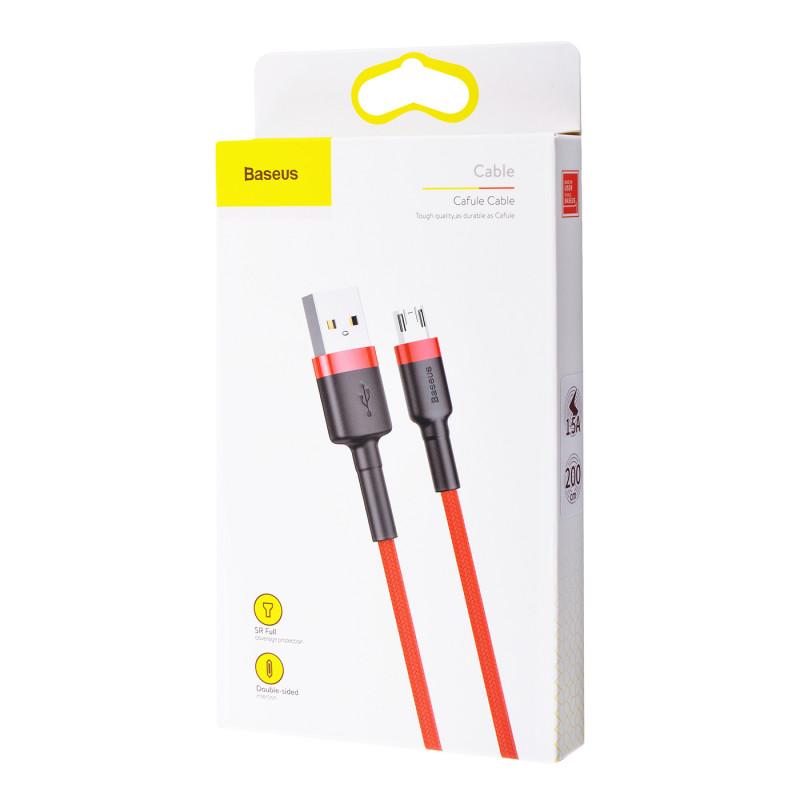 Кабель Baseus Cafule Micro USB 2.4A (0.5m) - Купить в Украине за 179 грн - изображение №2
