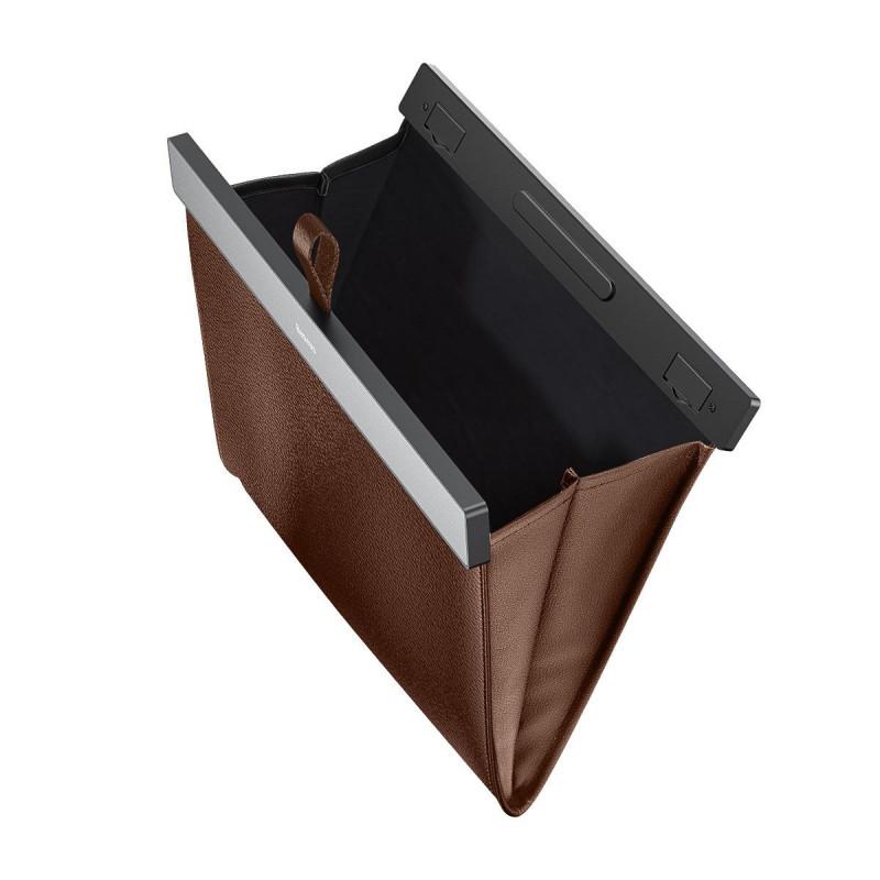Чехол-карман Baseus Large Garbage Bag for Back Seat - Купить в Украине за 519 грн - изображение №5