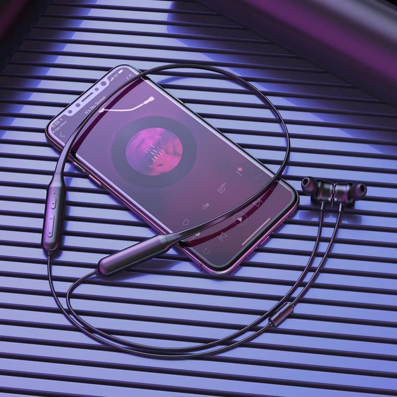 Наушники Baseus SIMU Active Noise Reduction S15 Bluetooth - Купить в Украине за 1009 грн - изображение №7