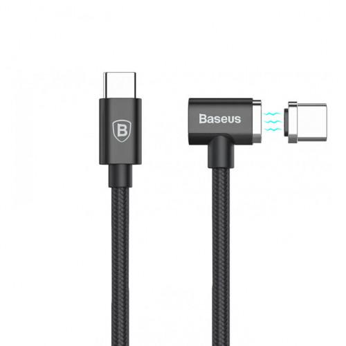 Купить Кабель Baseus Magnet Type-C For Charge MacBook 86W 4.3A (1.5m) — Baseus.com.ua