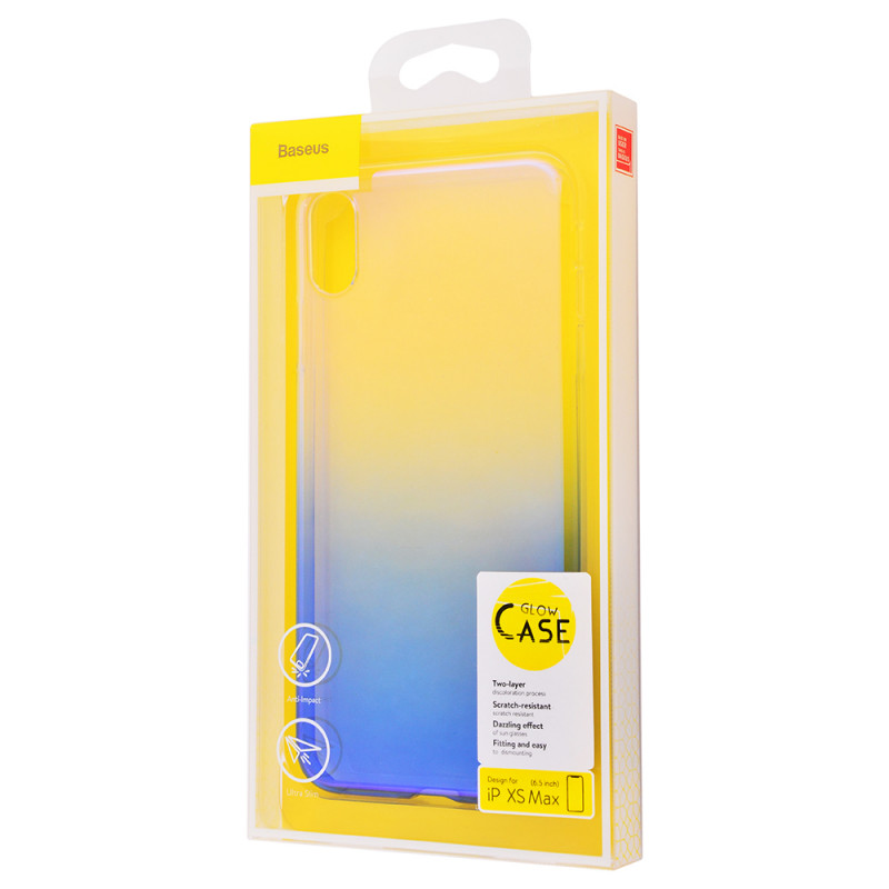 Baseus Glow Case (TPU) iPhone Xs Max - Купить в Украине за 297 грн - изображение №2