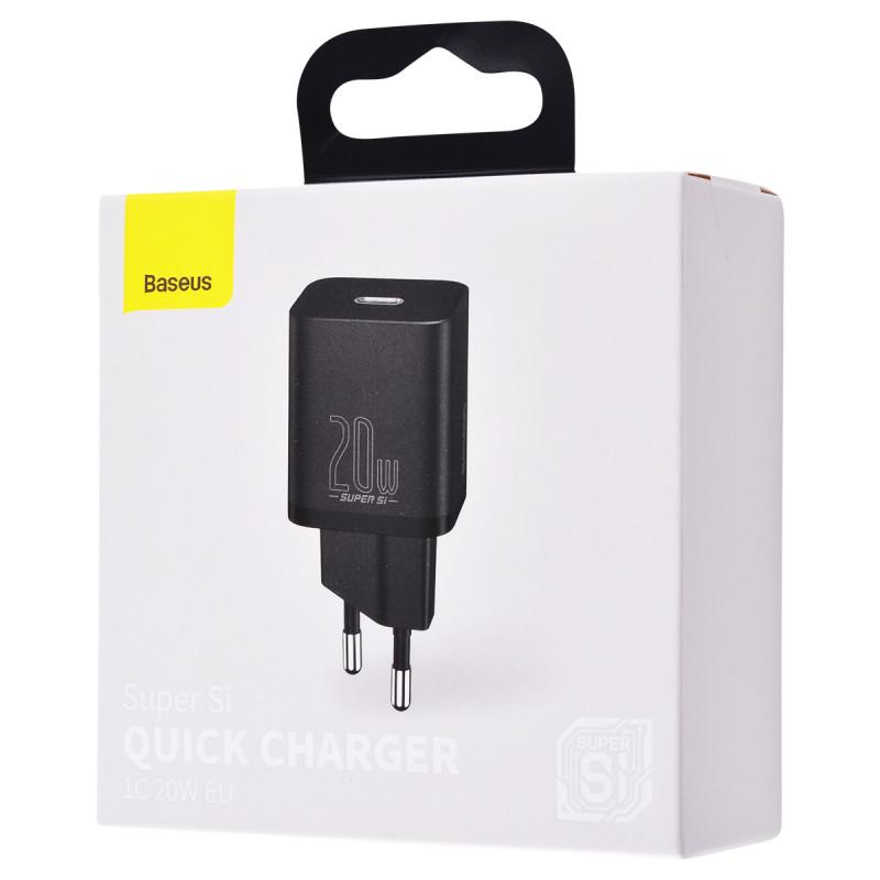 СЗУ Baseus Super Silicone PD Charger 20W (1Type-C) - Купить в Украине за 369 грн - изображение №2