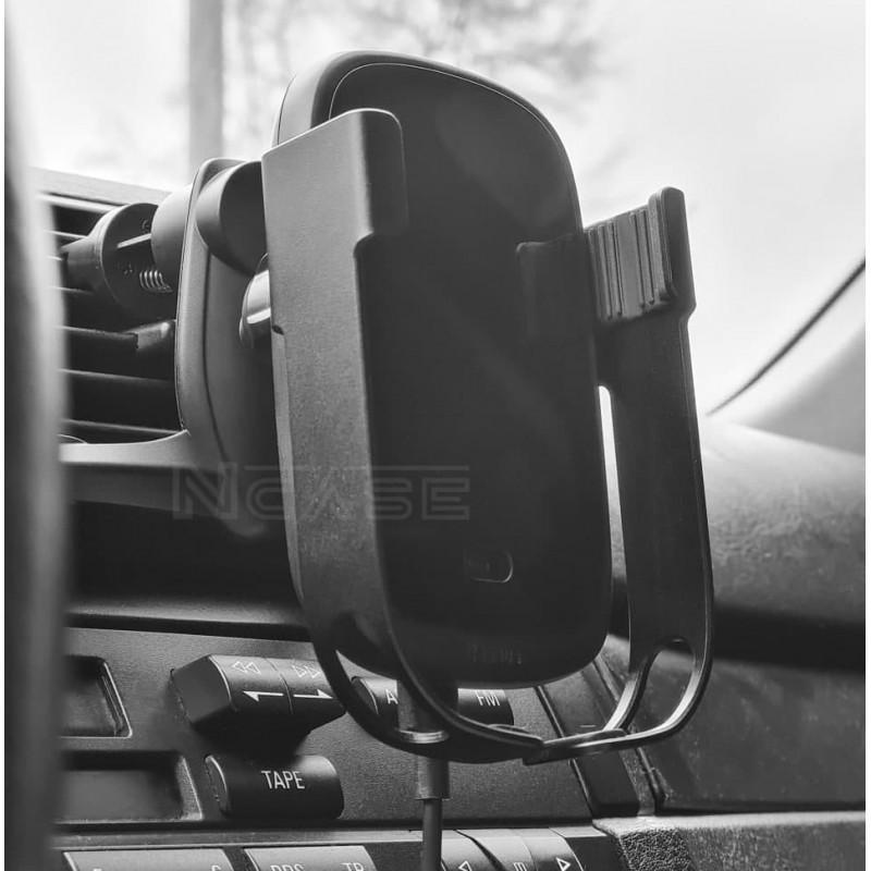 Автодержатель с Беспроводной Зарядкой Baseus Rock-Solid Electric Holder - Купить в Украине за 979 грн - изображение №5