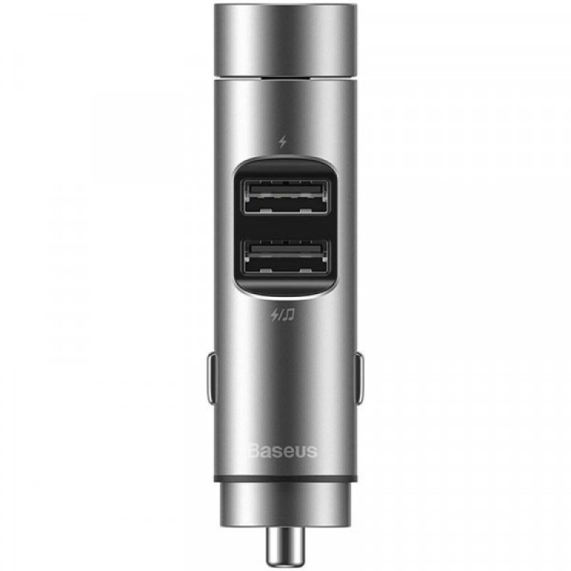 Автомобильное ЗУ Baseus Energy Column Bluetooth FM Launcher 3,1A 2USB - Купить в Украине за 539 грн