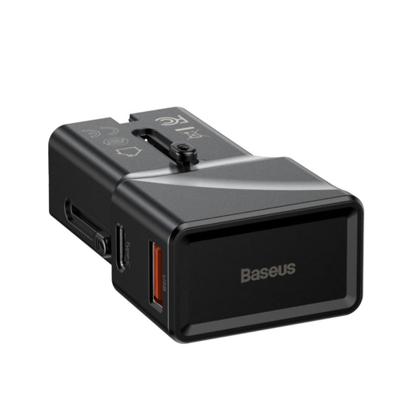 СЗУ Baseus Universal Conversion Plug PPS Charger 18W (1 Type-C + 1 USB) - Купить в Украине за 589 грн - изображение №10