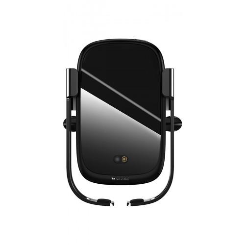 Купить Автодержатель с Беспроводной Зарядкой Baseus Rock-Solid Electric Holder — Baseus.com.ua