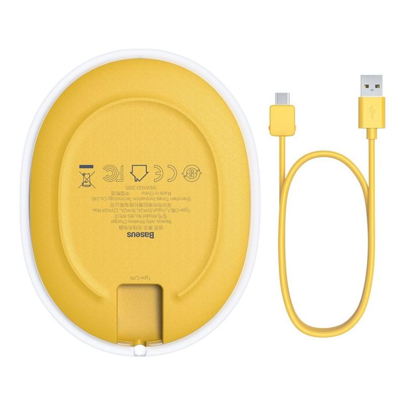 Беспроводное ЗУ Baseus Jelly 15W - Купить в Украине за 429 грн - изображение №9