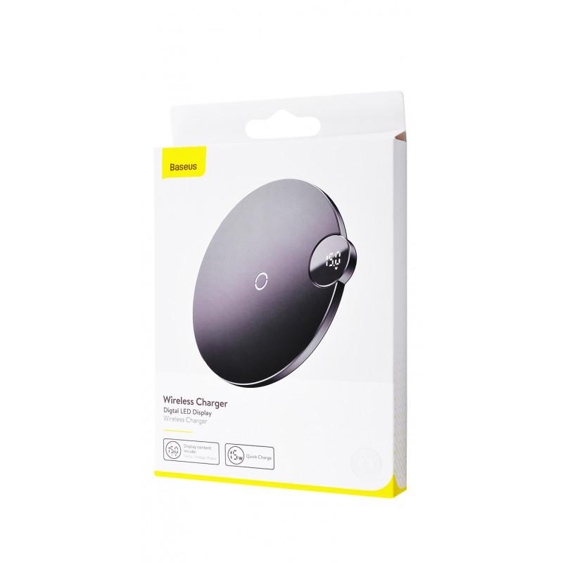 Беспроводное ЗУ Baseus Digtal LED Display - Купить в Украине за 569 грн - изображение №2