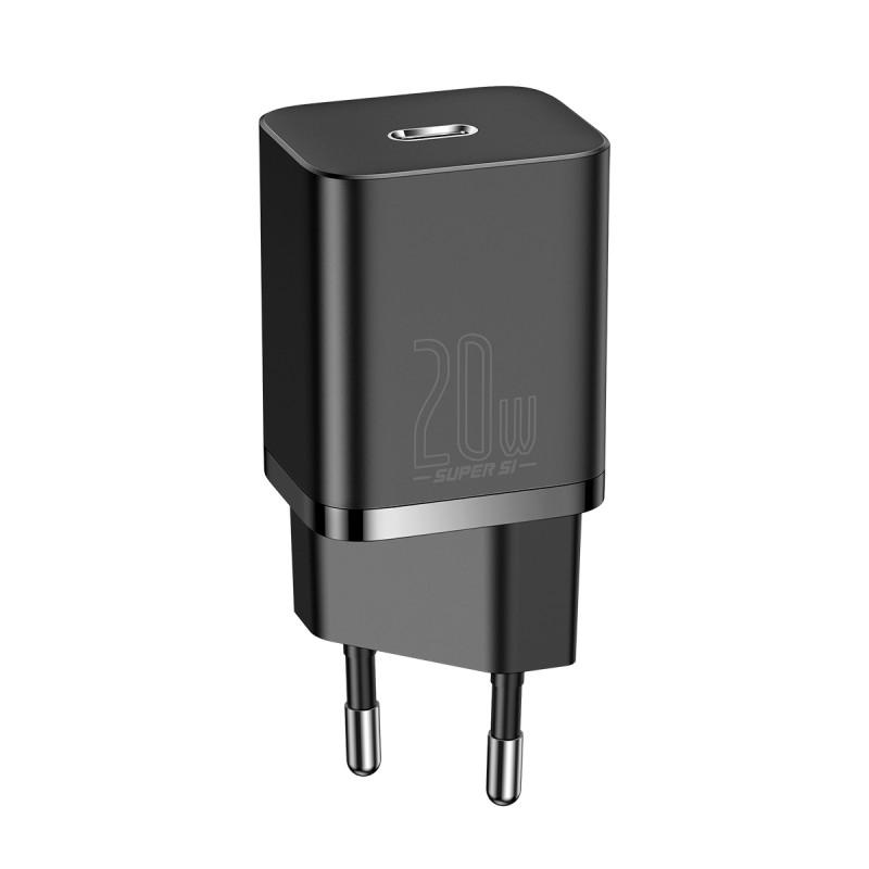 СЗУ Baseus Super Silicone PD Charger 20W (1Type-C) - Купить в Украине за 369 грн - изображение №12