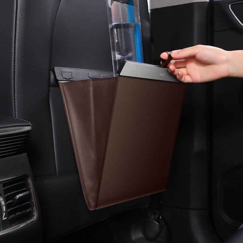 Чехол-карман Baseus Large Garbage Bag for Back Seat - Купить в Украине за 519 грн - изображение №3