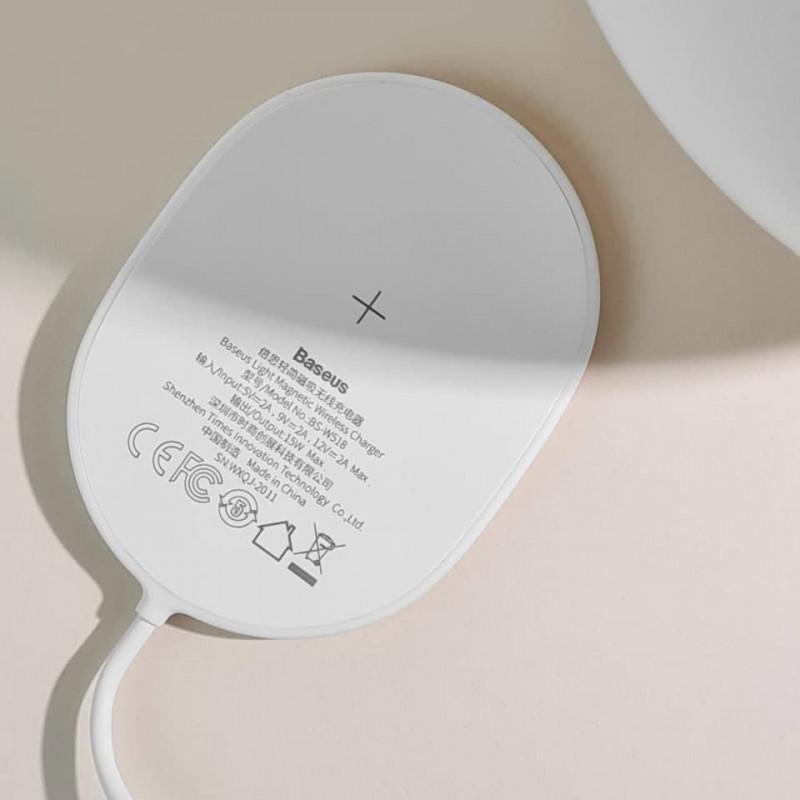 Беспроводное ЗУ Baseus Light Magnetic 15W - Купить в Украине за 719 грн - изображение №3