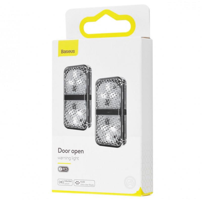 Дверная Автомобильная Лампа Baseus Warning Light (2pcs/pack) - Купить в Украине за 219 грн - изображение №2