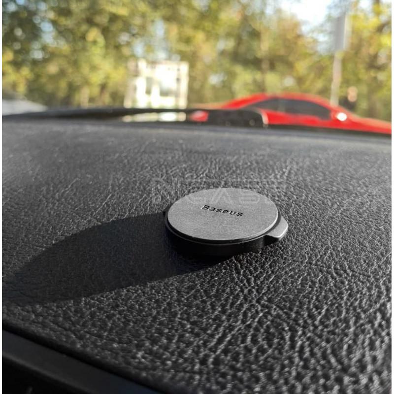 Автодержатель Baseus Small Ears Series Magnetic Suction Bracket Flat Type - Купить в Украине за 209 грн - изображение №4