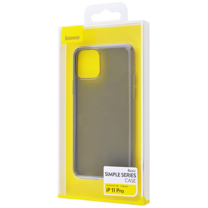 Baseus Simple (TPU) iPhone 11 Pro - Купить в Украине за 199 грн - изображение №3