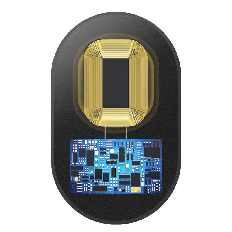 Переходник Для Беспроводной Зарядки Baseus Microfiber Receiver (For iPhone) - Купить в Украине за 189 грн - изображение №5