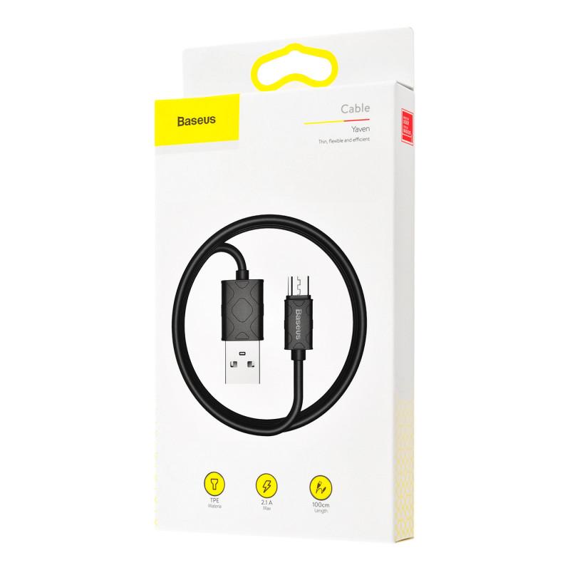 Кабель Baseus Yaven Micro USB (1m) - Купить в Украине за 109 грн - изображение №2