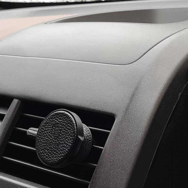 Автодержатель Baseus Small Ears Series Magnetic Bracket Leather Air Outlet Type - Купить в Украине за 319 грн - изображение №3