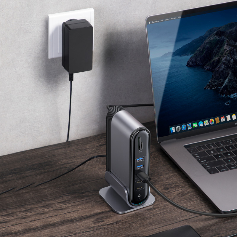 USB-Хаб Baseus Multifunctional Working Station Three-Screen - Купить в Украине за 3939 грн - изображение №3