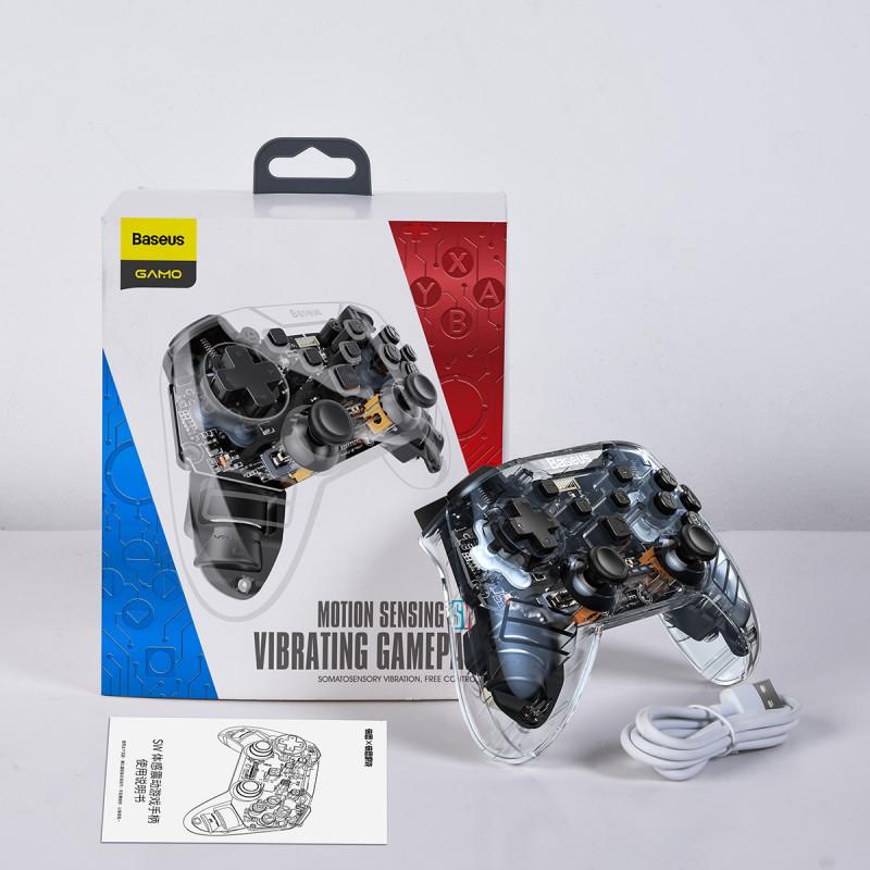 Игровой Контроллер Baseus SW Motion Sensing Vibrating Gamepad - Купить в Украине за 1019 грн - изображение №4