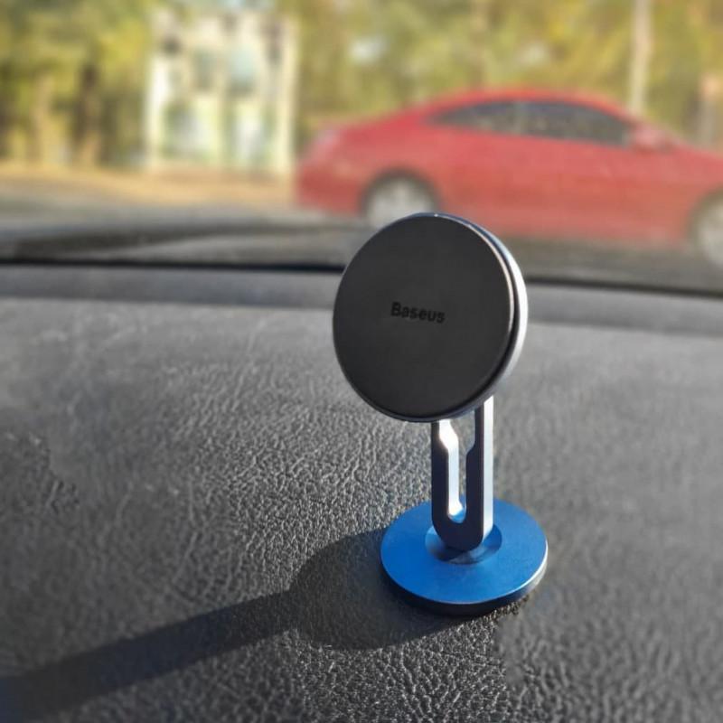 Автодержатель Baseus Hollow Magnetic Car Mount Vertical Type - Купить в Украине за 279 грн - изображение №3
