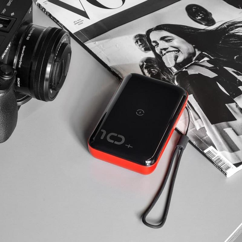 Беспроводной Внешний Аккумулятор Baseus Mini S Bracket 10000mAh 18W - Купить в Украине за 1029 грн - изображение №7