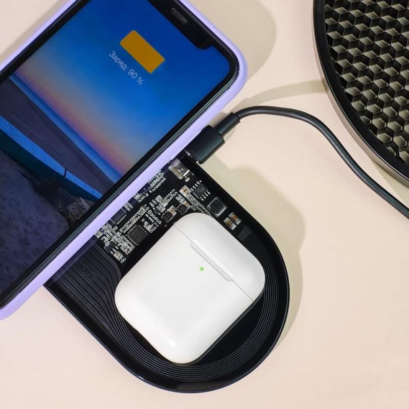 Беспроводное ЗУ Baseus Simple 2in1 Turbo Edition 24W (With QC Wall Charger) - Купить в Украине за 1079 грн - изображение №6