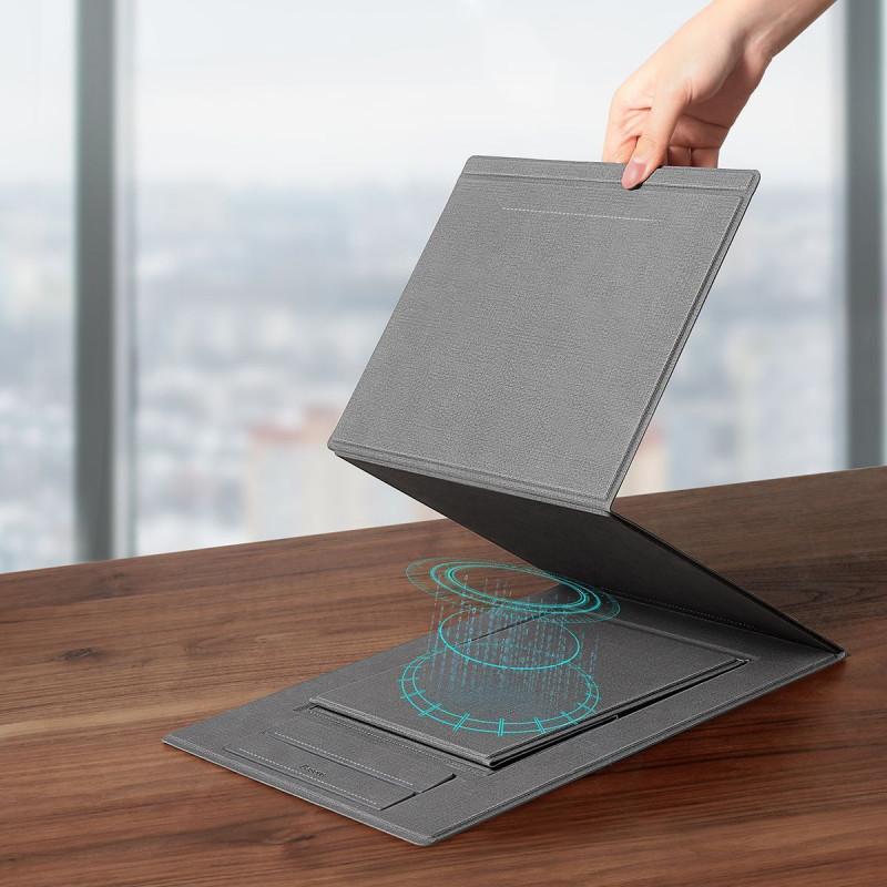 Подставка для ноутбука Baseus Ultra High Folding Stand - Купить в Украине за 1399 грн - изображение №3