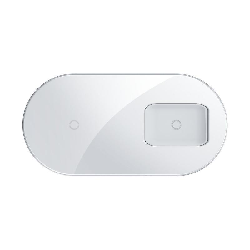 Беспроводное ЗУ Baseus Simple 2in1 18W Pro Edition - Купить в Украине за 899 грн - изображение №13