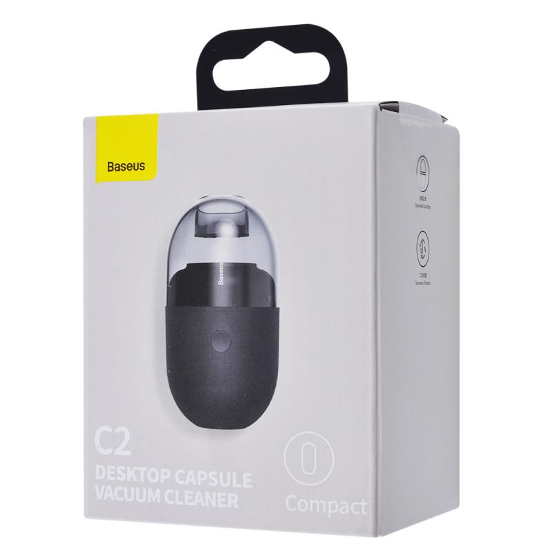 Портативный Пылесос Baseus C2 Desktop Vacuum Cleaner - Купить в Украине за 499 грн - изображение №2