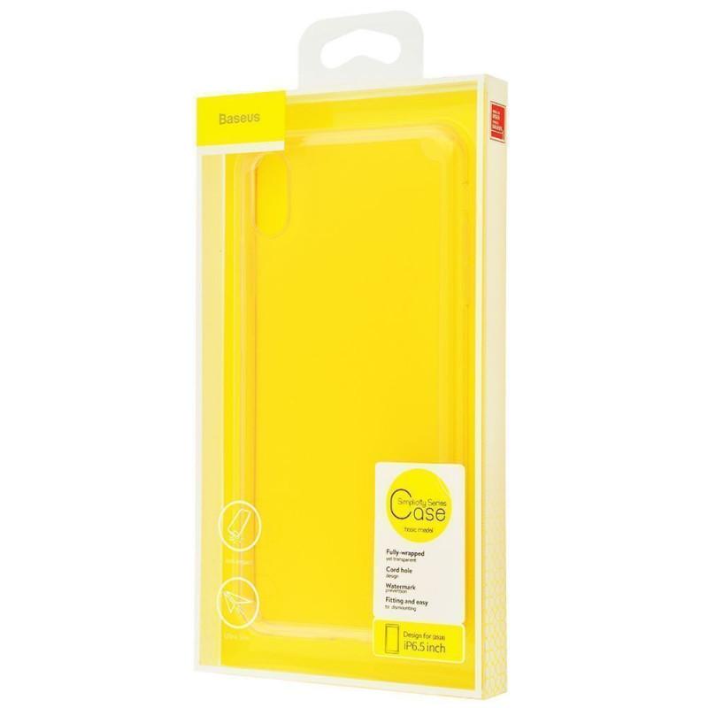 Baseus Simplicity Series Case (TPU) iPhone Xs Max - Купить в Украине за 179 грн - изображение №2
