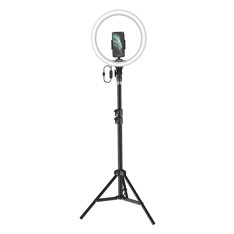 Кольцевая светодиодная LED лампа Baseus Live Stream 12