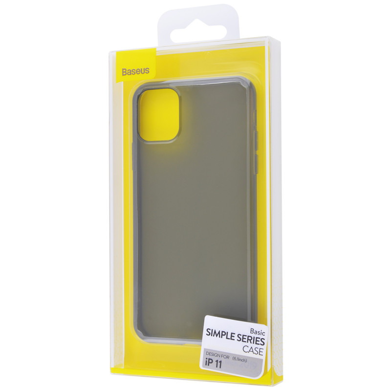 Baseus Simple (TPU) iPhone 11 - Купить в Украине за 199 грн - изображение №2