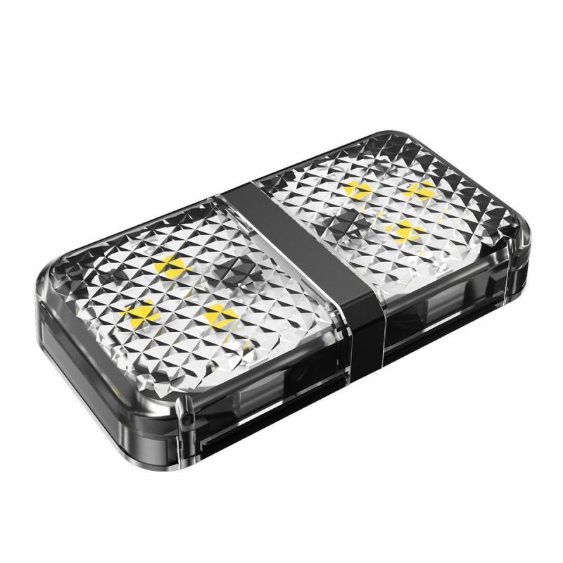 Дверная Автомобильная Лампа Baseus Warning Light (2pcs/pack) - Купить в Украине за 219 грн - изображение №7