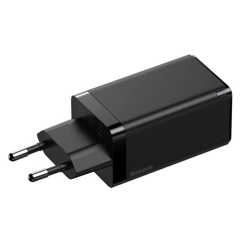 СЗУ Baseus GaN2 Quick Charger 65W (2 Type-C + 1 USB) - Купить в Украине за 1179 грн - изображение №7