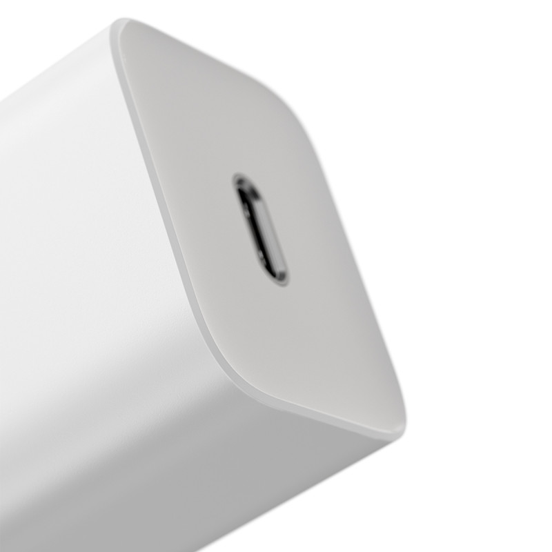 СЗУ Baseus Super Silicone PD Charger 20W (1Type-C) + With Cable Type-C to Lightning - Купить в Украине за 489 грн - изображение №8