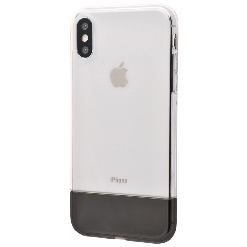 Baseus Half to Half soft Case (TPU) iPhone Xs Max - Купить в Украине за 320 грн