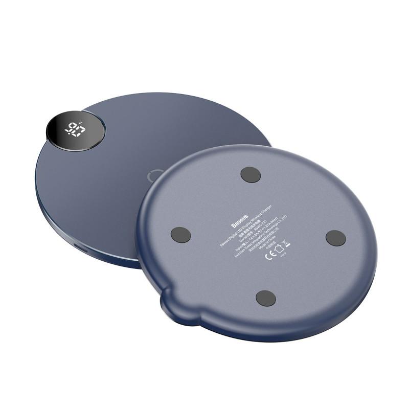 Беспроводное ЗУ Baseus Digtal LED Display - Купить в Украине за 569 грн - изображение №4