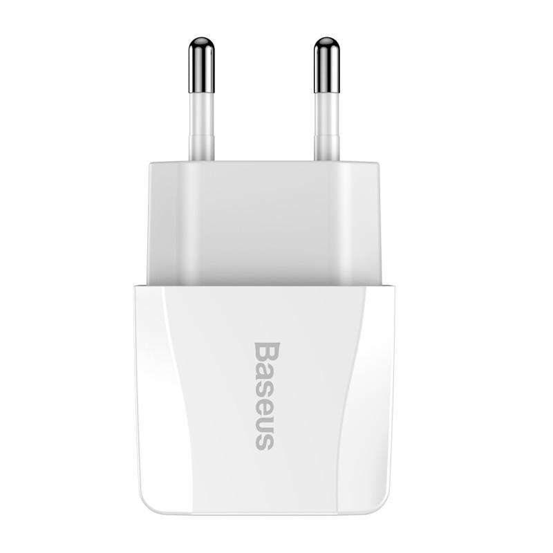 СЗУ Baseus Mini Dual U Charger 2.1A 2USB - Купить в Украине за 219 грн - изображение №7