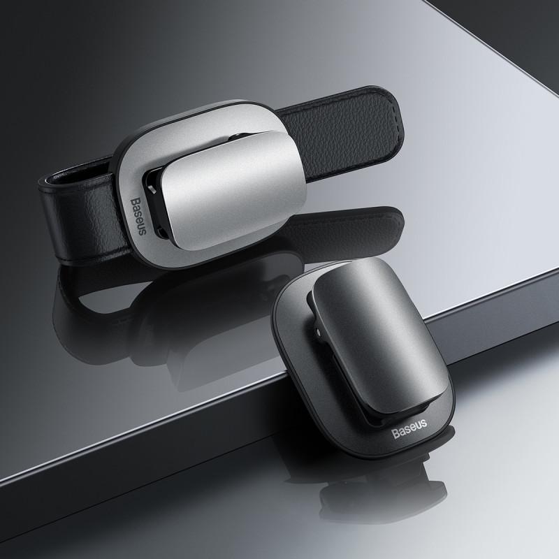 Автодержатель для очков Baseus Platinum Vehicle Clamping type - Купить в Украине за 269 грн - изображение №3