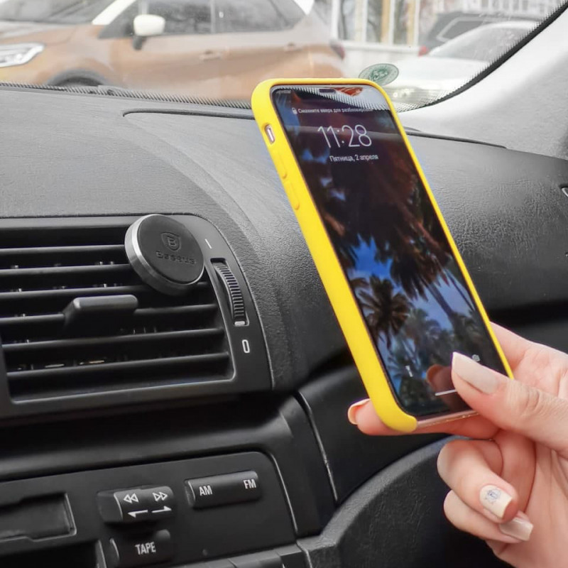 Автодержатель Baseus Magnet Car Mount - Купить в Украине за 249 грн - изображение №5